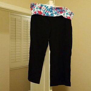 NWT juniors No Boundaries XL Capri yoga pants